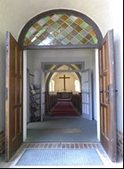 Tür Kirche Borgsdorf